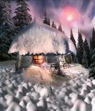 Сказ рождества для альпинистов Стоковые Изображения RF