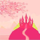 сказ princess замока fairy волшебный Стоковые Фото