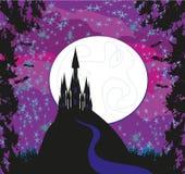 сказ princess замока fairy волшебный Стоковое Фото