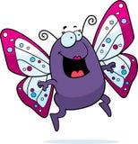 скакать бабочки иллюстрация вектора