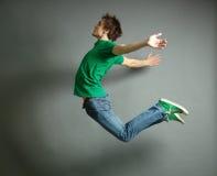 Скакать высоко Стоковая Фотография RF