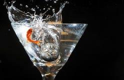 Скакать рыб золота Стоковая Фотография