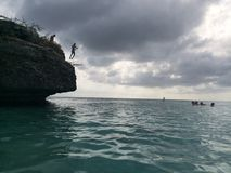 Скакать скалы Стоковые Фотографии RF