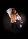 скакать танцора самомоднейший Стоковое Изображение