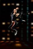 скакать танцора Стоковые Фотографии RF