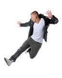 скакать хмеля вальмы танцора стоковое изображение