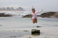 Скакать для утехи Стоковое Фото
