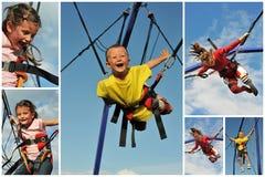 скакать bungee Стоковое Изображение RF