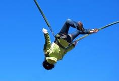 скакать bungee Стоковая Фотография