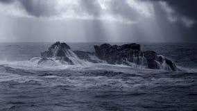 Скала моря Стоковые Фотографии RF