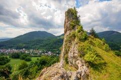 Скала Cerveny Kamen стоковые фото