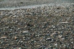 Скалистое сухое русло реки Стоковое Изображение