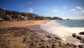 Скалистые берега Виктории приставают к берегу в пляже Laguna Стоковые Изображения RF