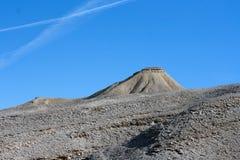Скалистые холмы пустыня Негев в Израиле Стоковые Изображения RF