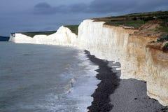 скалы белые Стоковые Фотографии RF