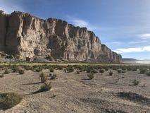Скалы в Altiplano Боливия, Южная Америка Стоковое фото RF