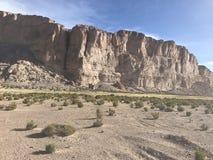 Скалы в Altiplano Боливия, Южная Америка Стоковое Фото