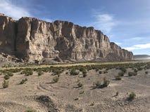 Скалы в Altiplano Боливия, Южная Америка Стоковые Фотографии RF