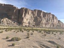 Скалы в Altiplano Боливия, Южная Америка Стоковые Изображения RF