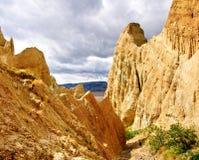 скалы глины Стоковая Фотография