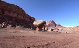 Скалы глушь Paria Каньон-Vermilion, Юта, США Стоковое Изображение RF