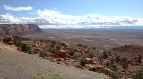 Скалы глушь Paria Каньон-Vermilion, Юта, США Стоковые Фотографии RF