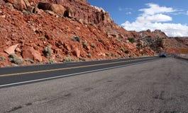 Скалы глушь Paria Каньон-Vermilion, Юта, США Стоковые Изображения