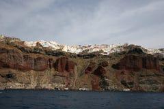 скалы греческие стоковое фото
