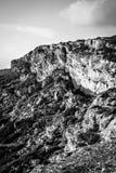 Скалы за счет Мальта Стоковая Фотография RF