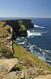 скалы ирландские стоковая фотография rf