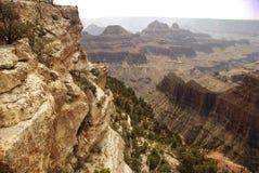 скалы каньона грандиозные Стоковое Изображение