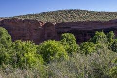 скалы красные Стоковое Фото
