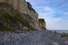 Скалы мела Mons Klint Дания Стоковые Изображения RF