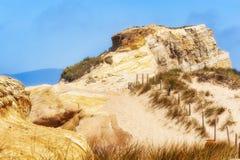 Скалы песчаника ` s Kiwanda накидки Стоковое Изображение RF