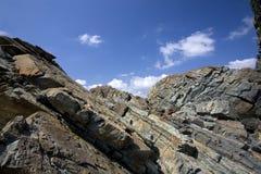 скалы утесистые Стоковое фото RF