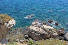 Скалы Bonifacio стоковое фото rf