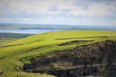 Скалы Moher Ирландии стоковое фото rf