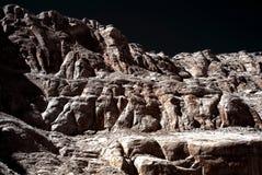 скалы monochrome Стоковая Фотография