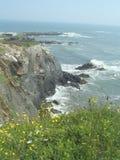 скалы Nova Scotia стоковое фото rf