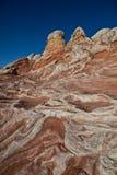 скалы vermilion Стоковая Фотография