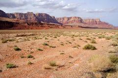 скалы vermilion Стоковое Изображение RF