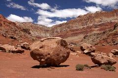 скалы vermillion Стоковые Изображения RF