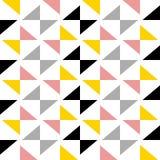 Скандинавская картина треугольника стиля Стоковые Фото