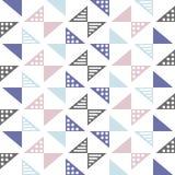 Скандинавская картина треугольника стиля Стоковое Фото