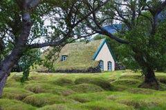 Скандинавия, традиционный дом стоковые изображения