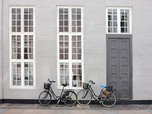 Скандинавская улица Стоковое Изображение