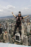 скача башня skydiver kl Стоковая Фотография RF