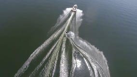 скача бодрствование Стоковая Фотография