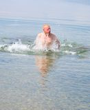 скача вода Стоковое фото RF