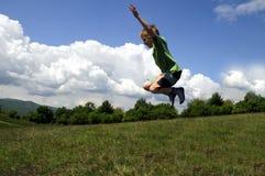 скача малыш Стоковое Фото